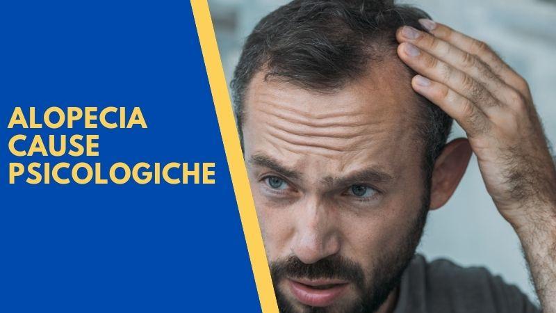 alopecia cause psicologiche